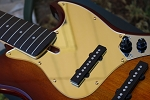 Gold Mirror Pickguard  - 5 String -  Sire size #2 - Fits Later models