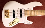 K524  White -Alder - Upgraded Bridge - your choice of pickups and preamp