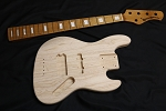 NEW!!! DIY High Quality KM5 Kit-5 String Swamp Ash-
