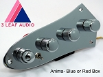 Bassmods Custom Shop- 3 Leaf Audio Anima   J style plates- FIVE CONFIGURATIONS- Build time 7-10  Business days