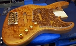 Cali Custom - Quick Custom  - Spalted Flame Top 2 -Premium Swamp Ash - Optional necks - Optional  Hardware and Electronics- USA  Made