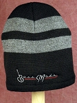 Bassmods Gray Beanie gray Logo  - one size fits most- Good Quality