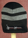 Bassmods Gray Beanie White Logo  - one size fits most- Good Quality