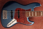 K534  Metallic Lake Placid Blue   --Alder- your choice of pickups and preamp