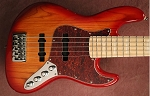 K534 Cherry Burst --Swamp Ash - - your choice of pickups and preamp