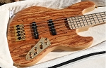 New!!!  K534 - Custom 5 String-Exotic wood options-  Choose the finish- Get a quote Today!