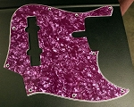 Purple Pearloid Pickguard  - 5 String -  Sire size #2 - Fits Later models