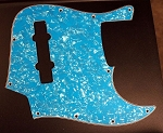 Baby Blue Pearloid  Pickguard  Fits Bassmods K534 2016 to current