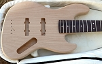 NEW!! Cali K5-Light- chambered Alder Body-  You pick Electronics-Hardware color and Paint job- Indian Rosewood with clay dots -