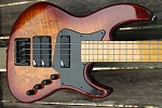 Custom K424 Spalted tobacco -   x3 Aguilar DCB Pickups + Bassmods 3 band preamp
