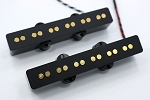 Bassmods Gold REJ 6 String Pickups- Rare Earth Charged Poles- Rare Earth Charged Magnets- Neodymium