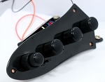 Bass Mods Deluxe Black J Plate - 3 Band 4 knobs with 3 position Mid Freq Select Model:MC3