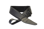 DR Premium 'Buttersoft' Leather Black  Strap  2.75