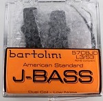 Bartolini 57CBJD 5-String Am. Standard Jazz Style Pickup Set Bright Tone