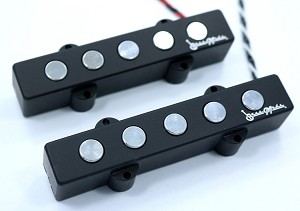 NEW PRODUCT!! BIG PHATTY  5 String Pickups- Ceramic Magnet- Chrome Plated Poles-