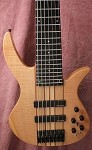 B7 7 String-Flamed Maple -  Plek'd -Swamp Ash-Bartolini preamp- Wound Kent Armstrong Pickups