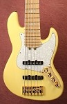 "New Model k634"" Classic Creme with Reed James Pickups- preamp options available."