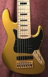 K724 Gold -Swamp Ash- 3 Band  preamp-Kent Armstrong-Plek'd