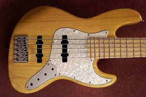 K534 Trans Blonde   --Swamp Ash - Upgraded Bridge your choice of pickups and preamp