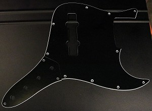 Black  Pickguard  and Control Plate (SET) Fits Bassmods K534 2016 to current