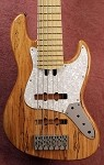 "K634""  Classic - Spalted Maple Custom- with Nordstrand Pickups and your choice of preamp"