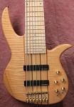 NT7 7 String- Tiger Maple Top-  Plek'd Maple Neck-Swamp Ash