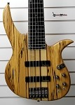 NT6 6 String- Spalted Top -Swamp Ash body- Maple Neck