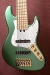 "Discounted New Model k634"" Mettalic Teal with Aguilar Pickups- preamp options available."