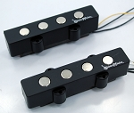 Bass Mods Big Phatty 4's Split Coil Hum-cancelling Pickup -4 String -Ceramic Magnet Version