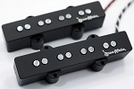 Chrome REJ4 4 String Pickups- Rare Earth Charged Poles- Rare Earth Charged Magnets- Neodymium