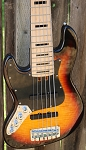 Left Handed  K6 3 Tone Flame -Swamp Ash-  Maple- Bartolini Pickups-Bassmods MC3 Pre