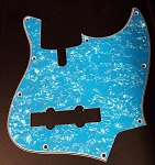 Baby Blue Pearloid Pickguard  - Available in 4 or 5 - Same as Sire size-