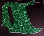 Green Pearloid Pickguard  Fits Bassmods K534 2016 to current
